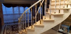 Изготовление ограждений для лестниц_2